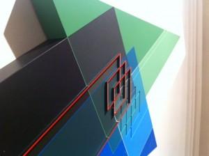 Détail d'une oeuvre d'Octavio Herrera.