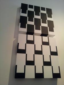 Graphic Art Verticalidad del cuadrado